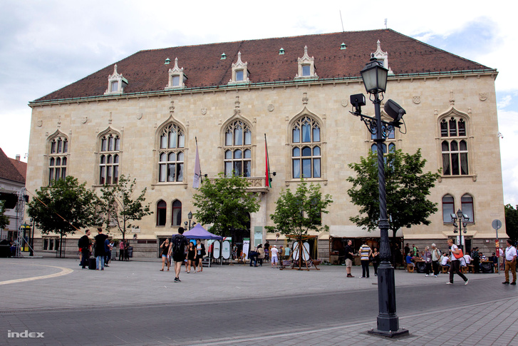 Az Országos Levéltár Szentháromság téri épülete