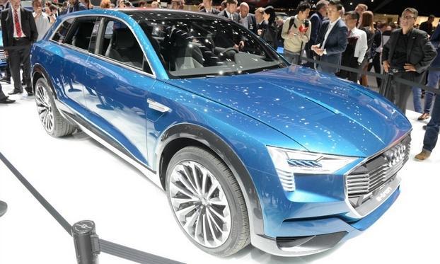 Az Audi e-tron, elektromos SUV