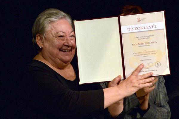Molnár Piroska - Örökös Tagság, Csiky Gergely Színház