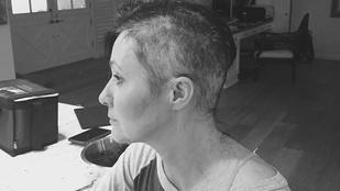 A rákkal küzdő Shannen Doherty újabb képet osztott meg magáról