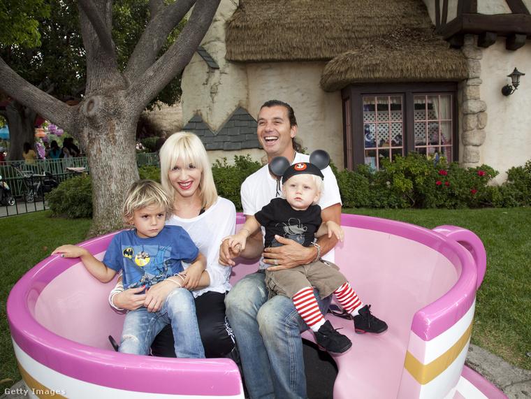 Gwen Stefani és Gavin Rossdale még 2010-ben. Három gyerekük született.