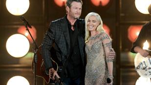 Mikor Gwen Stefani szíve ripityára tört, tiszta szerencse, hogy Blake Shelton a környéken járt