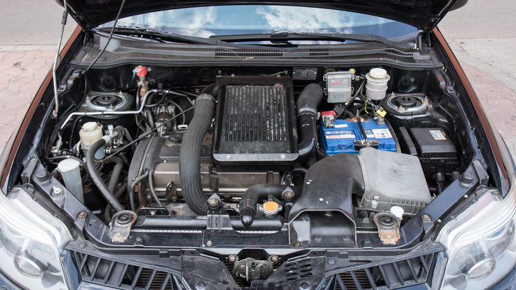Hát nem csodálatos dolog egy Evo motorjára SUV-ot éptíteni