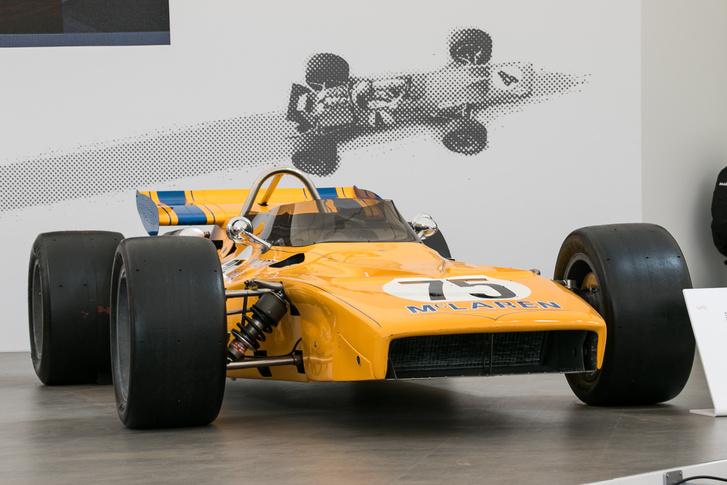 M15, az első turbós McLaren