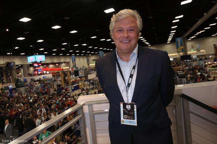Így nézett ki a színész, amikor a Comic-Con-on dedikált