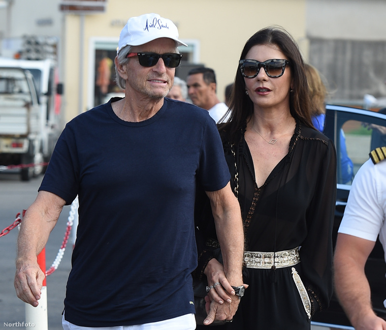 Michael Douglas és Catherine Zeta-Jones
