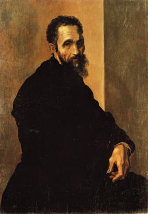 Michelangelo arcképe (1535 körül)