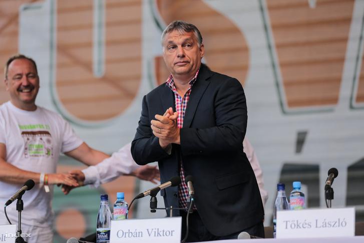 Orbán Viktor miniszterelnök a tusványosi beszéd előtt