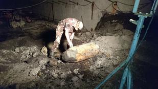 Gigantikus méretű bombát találtak az Infoparkban