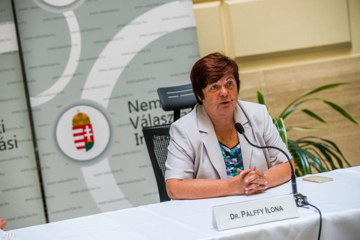 Pálffy Ilona a Nemzeti Választási Iroda elnöke