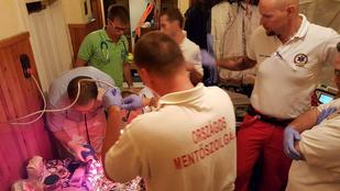 24 hetes magzatot élesztettek újra a mentők