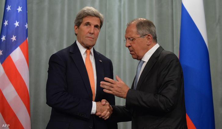 John Kerry és Szergej Lavrov