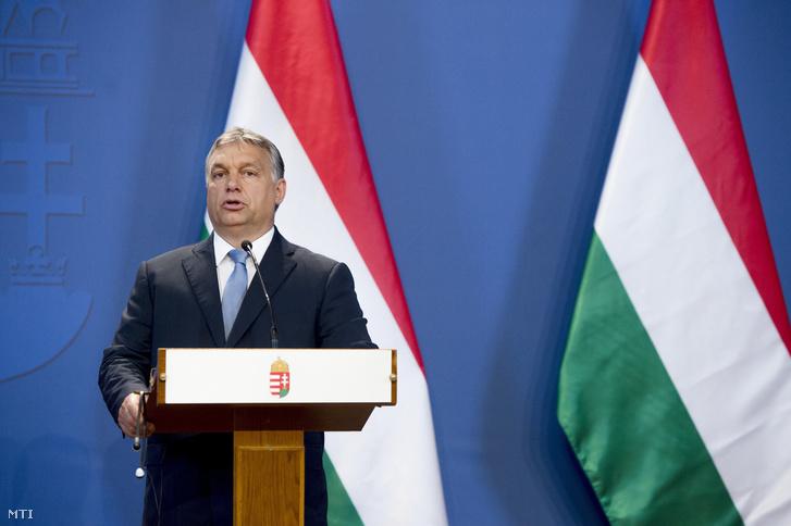 Orbán a tegnapi sajtótájékoztatón