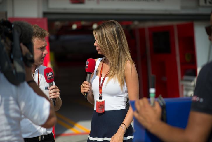 Egy híres olasz riporternő