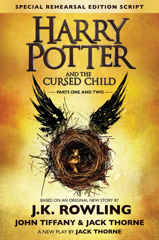 Harry Potter and the Cursed Child Special Rehearsal Edition Book