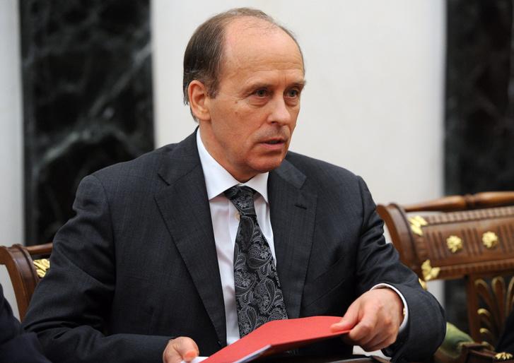 Alexander Bortnikov az FSZB vezetője.