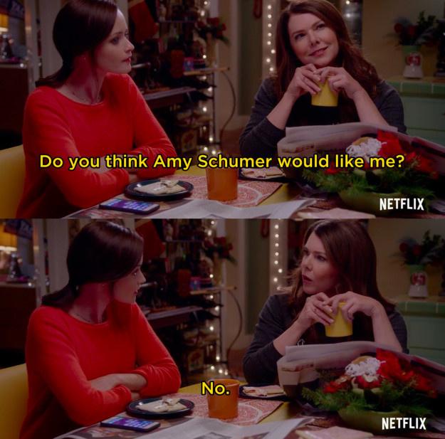 """""""Szerinted Amy Schumer bírna engem?"""" """"Nem"""""""