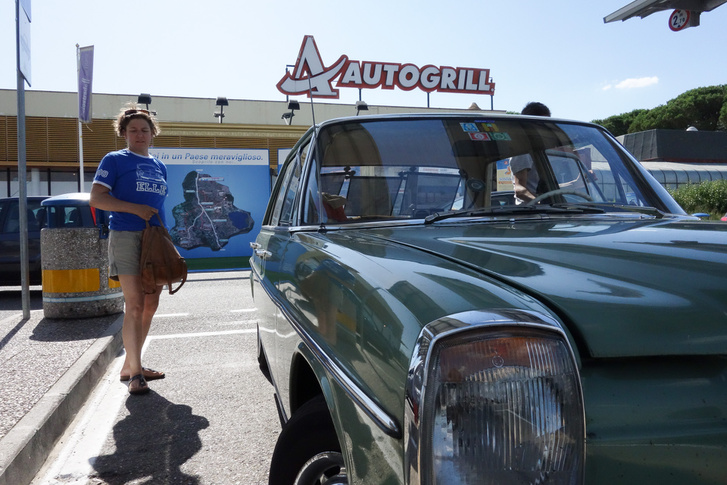 Az Olaszországba tévedő turista ezt várja először - végre egy Autogrill