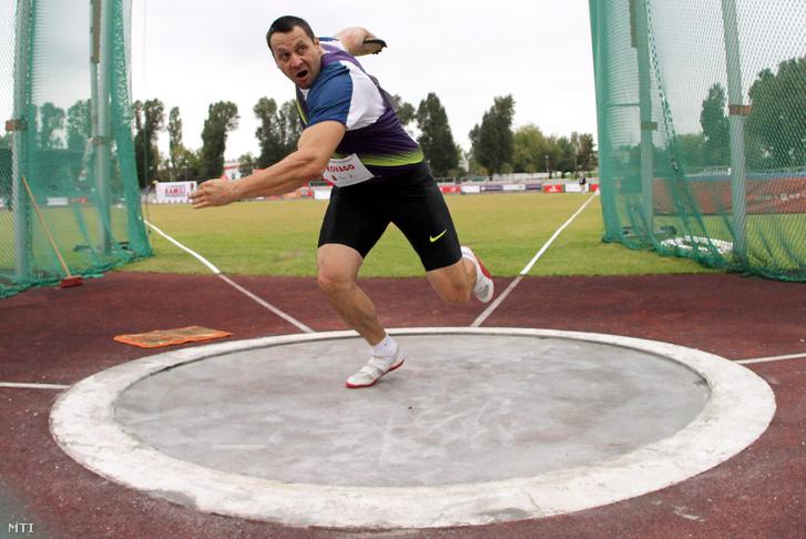Kővágó a Kamila Skolimowska olimpiai bajnok kalapácsvetőnő emlékére rendezett atlétikai versenyen Varsóban, 2011. szeptember 20-án.