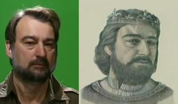 Koltai Ferenc volt a modell a 200 forintoshoz készített portréhoz.