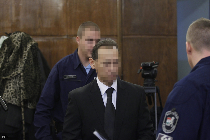 Vizoviczki László az ellene és 32 társa ellen vendéglátó-ipari tevékenységgel összefüggésben elkövetett költségvetési csalás vádja miatt indult büntetőper tárgyalásán a Fővárosi Törvényszéken 2014. november 19-én.