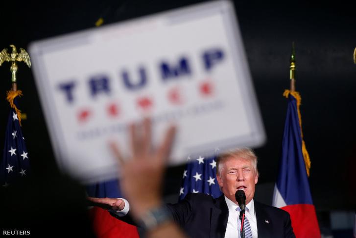 Donald Trump Denverben, 2016. július 29-én