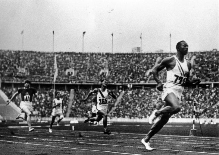 Jesse Owens az 1936-os Berlini Olimpián
