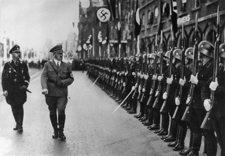 Heinrich Himmler és Adolf Hitler