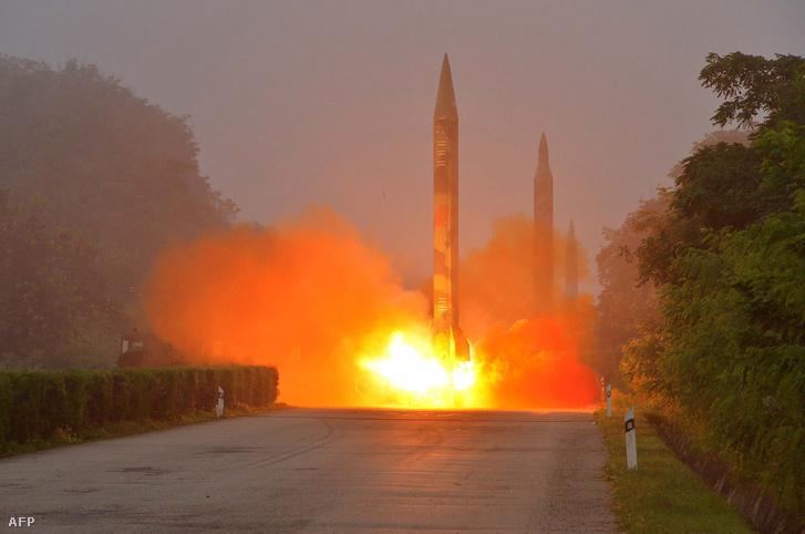 Észak-Korea július 21-i rakétakísérlete