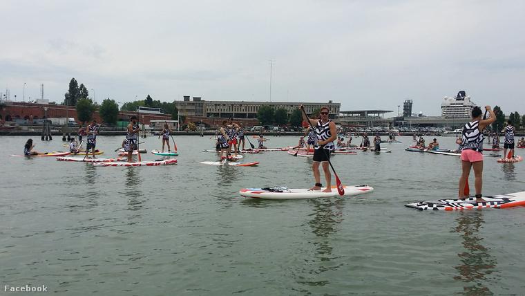 SurfinVenice-hez hasonlóan most Budapesten is kipróbálhatja az állószörföt