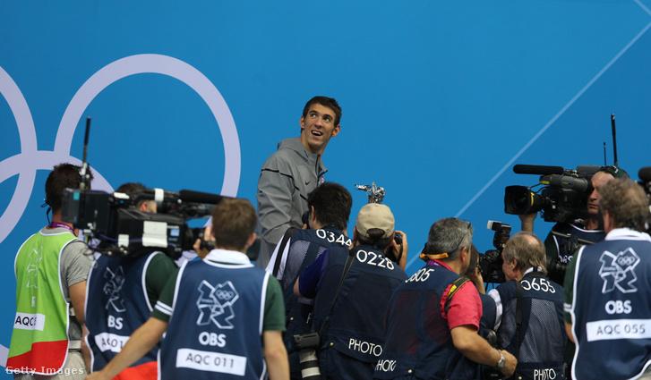 Phelps a 2012-es olimpián