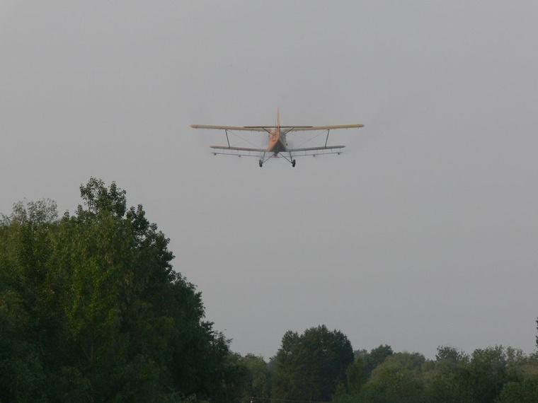 Szúnyoggyérírés repülőgéppel