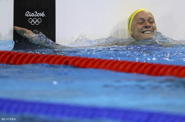 Sarah Sjöström olimpiai rekorddal jutott a döntőbe, ezt még tovább javította, világrekorddal lett olimpiai bajnok