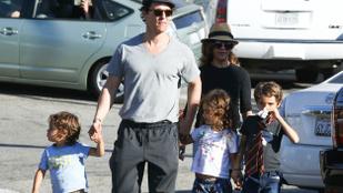 Matthew McConaughey családja nemcsak szép, de boldog is