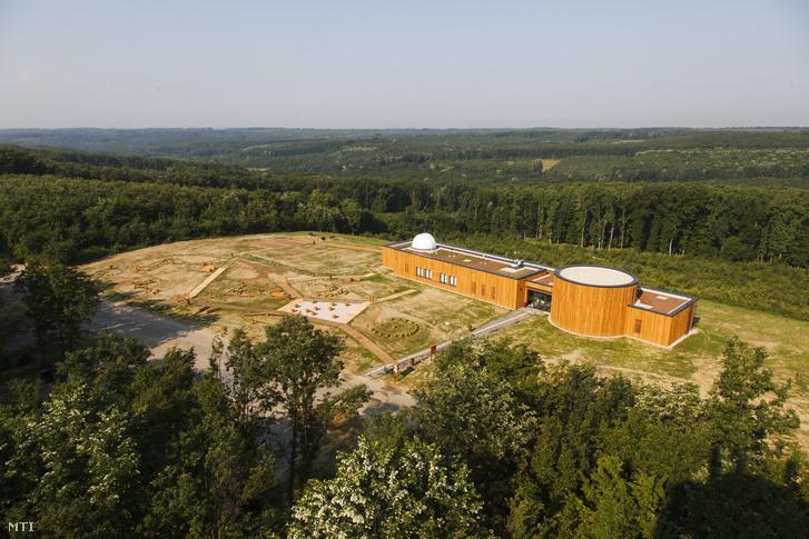 A Zselici Csillagpark turisztikai komplexuma 2015. június 9-én.