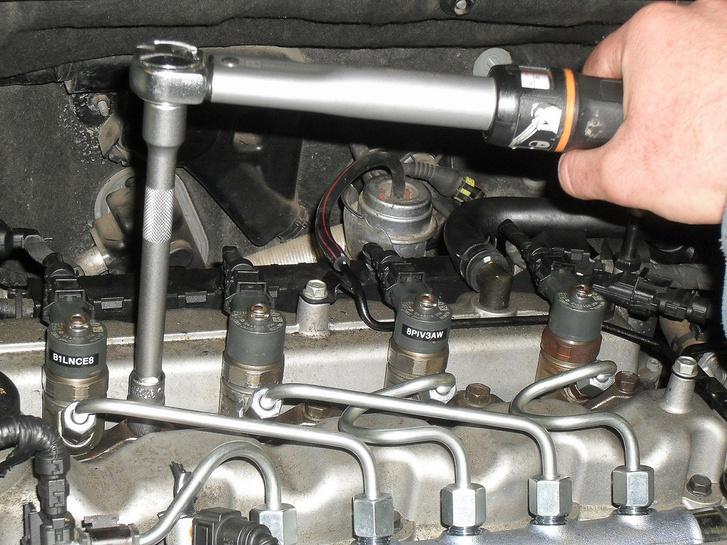 Az üzemanyagrendszer végső pontja: injektorok
