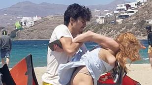 Videó és fotók is készültek arról, ahogy Lindsay Lohant vőlegénye bántalmazza
