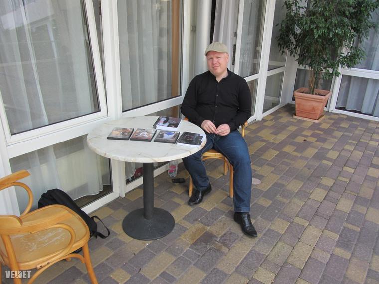Valent Gábor, a Puafesztivál Csajozási Tábor atyja