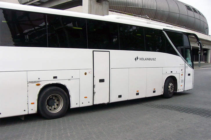 Egy négy évvel ezelőtti fotó, egy négy éves távolsági King Longról… a buszt mára vagy selejtezték, vagy felújították