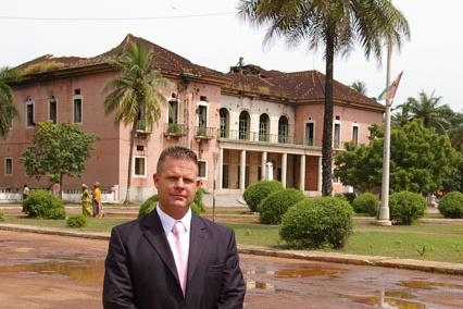 Welsz Tamás Bissau-Guineában