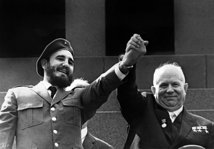 Castro és Hruscsov, az új szövetségesek