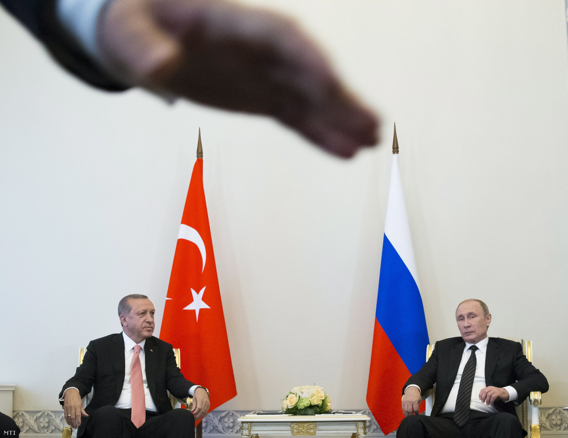 Putyin és Erdogan augusztus 9-i találkozója