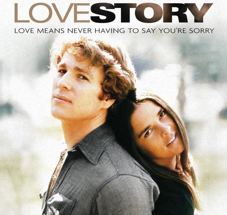 A Love story plakátja