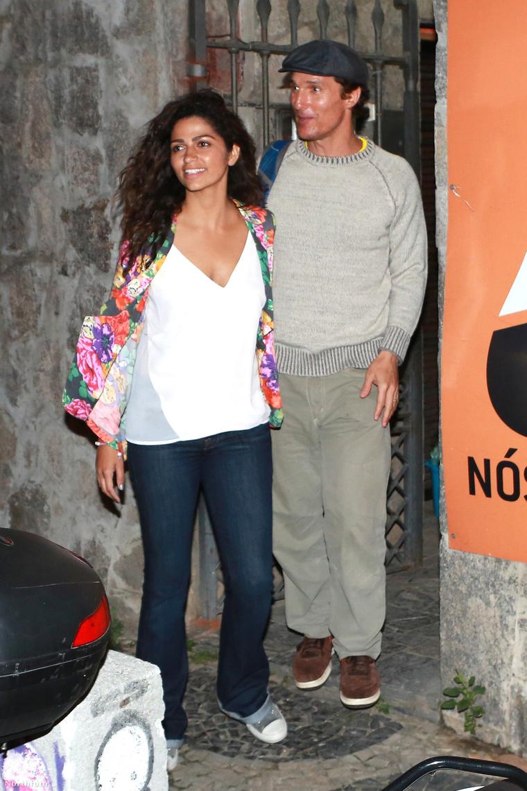 Matthew McConaughey és Camila Alves
