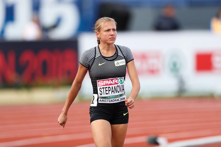 Sztyepanova az idei Atlétika Világbajnokságon Amszterdamban