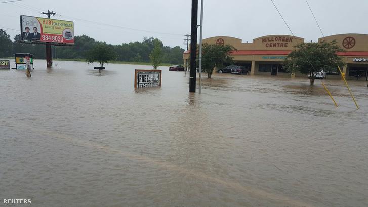 Louisianában is megáradtak a folyók