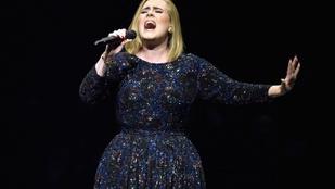 Adele-t eltiltották a pizzától, és nem örül neki