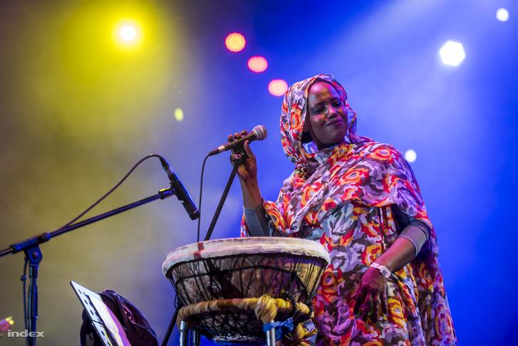 A sivatagi blues legszebb hangjaként konferálták a színpadra Aziza Brahimot
