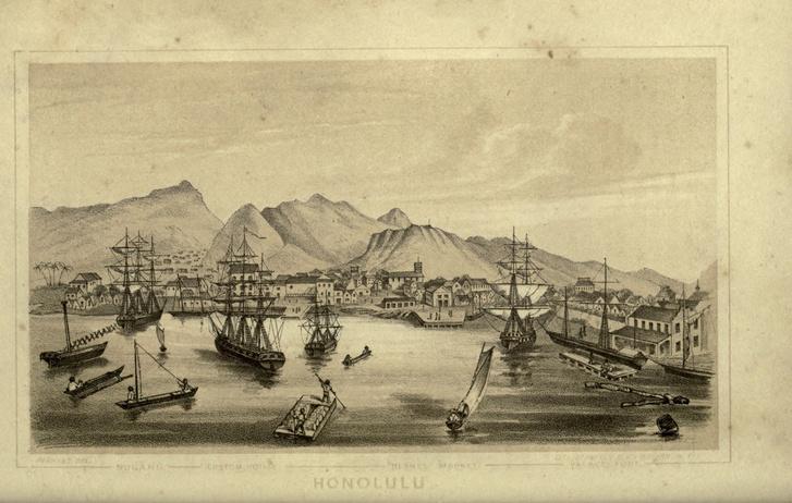 Honolulu látképe