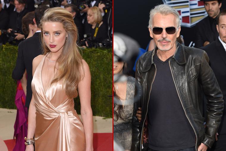 Amber Heard és Billy Bob Thornton